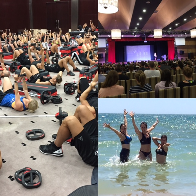 Les Mills Tribal Gathering 2017 team NL/BE