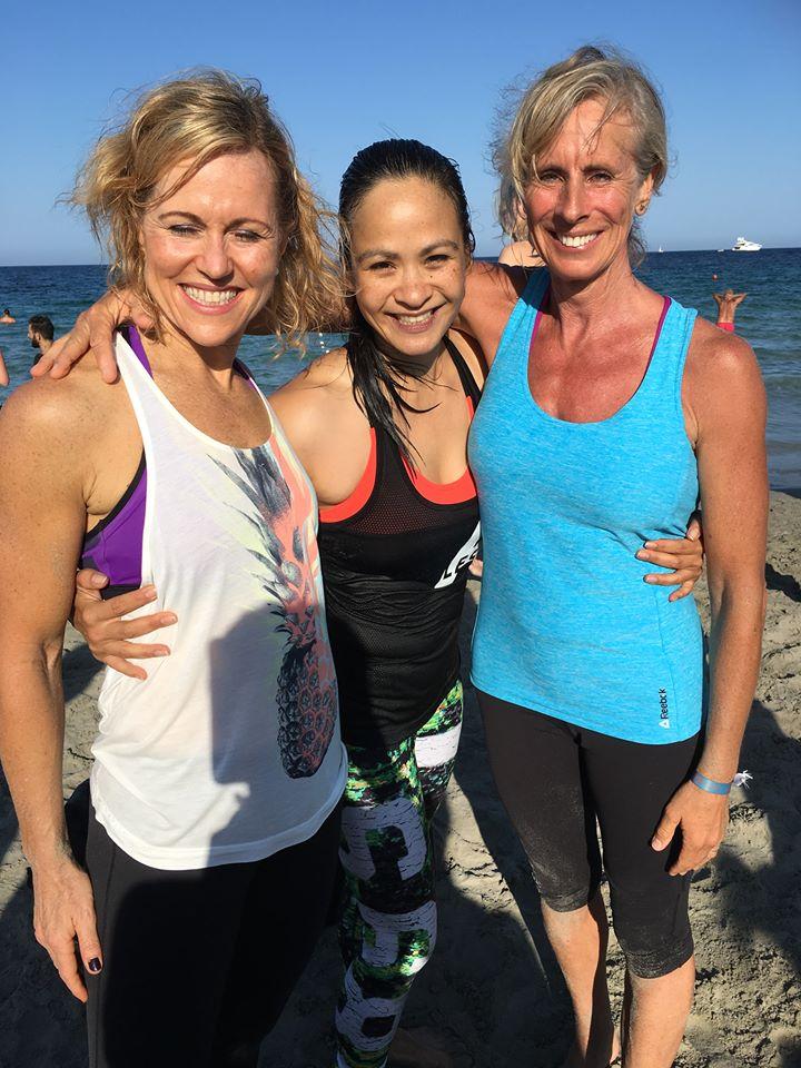 Jackie Mills, Kylie Gates & Louise Hildebrand